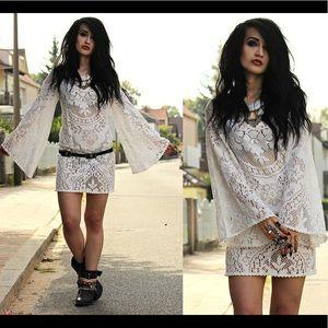 Spell & Gypsy Designs Fleetwood Mini Dress 8/SM